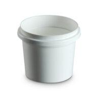 500mL Plastic Pail colour white