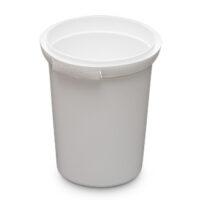 520mL Round Container - colour white